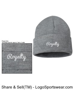 Royalty Beanies Design Zoom